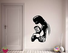 Wall Stickers Vinyl Decal Box Boxing Boxer Punch Sport Decor  (z1841)