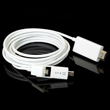 3M/10FT Micro USB MHL to HDMI HD TV Cable Adapter for Samsung HTC LG Huawei MOTO