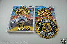 Emergency Mayhem - Wii . COMPLETE CIB in Good Shape