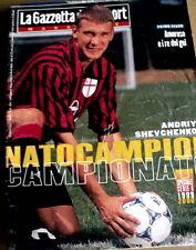 Gazzetta dello Sport Magazine 35 1999 - Andriy Schevchenko Milan in copertina