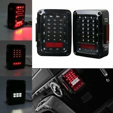 Rear Tail Light Multi-Function LED Brake Light For Jeep Wrangler JK JKU 07 -18