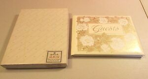 New Old Stock HALLMARK 1971 Guest book  New in Box