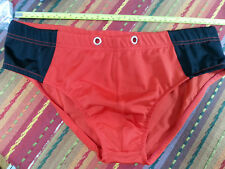 Mystery Men's Red Bikini - Poly/Spandex - Lined, Size XL - NWOT