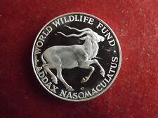* WWF Silbermedaille (1000) ca.30g.-40mm * Mendesantilope