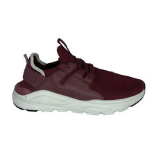 Skechers Shoes Men's Size 9 Red Burgundy Mesh Lace Up Factory Sample Nwob