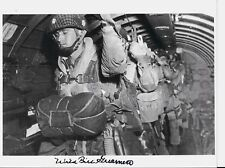 BILL GUARNERE 101ST AIRBORNE 506 PIR, EASY CO, BAND OF BROTHERS SIGNED PHOTO