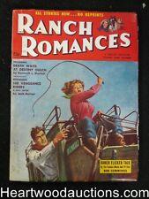 Ranch Romances Jun 2 1955 Girl with Whip - High Grade