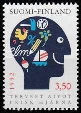 Finland postfris 1992 MNH 1167 - Gezonde Hersenen