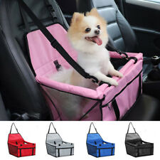 Safety Pet Booster Portable Breathable Dog Cat Car Seat Carrier Travel Protector