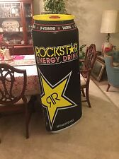 "Brand New Rockstar Energy Drink Can Large Pole Sign 20"" X 50"" Decal / Man Cave"