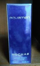 AQUAMAN ROCHAS AFTERSHAVE LOTION POUR HOMME 75 ML DISCONTINUED!!!