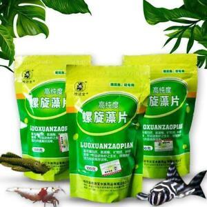 Fish Food Spirulina Catfish Tropical Veggie Algae Wafers O2W7 L0Z1 Biomass Q8B6