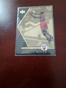 1998 99 Upper Deck Basketball Jordan Rules Gold Michael Jordan J15