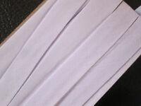 10 Meter Schrägband Baumwolle Weiß Borte 1cm Spitze Elegante BA 071