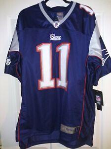 New Men's NFL Vintage New England Patriots Drew Bledsoe Jersey Size Large