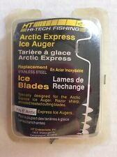 Ht Arctic Express Ice Auger Replacement Stainless Steel Blades Fit 6� Auger