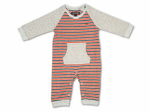 Tommy Hilfiger Romper Double Stripe Baby Jumpsuit Size 62,68, 74 New