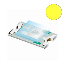 10 x Yellow 0603 SMD Chip LED