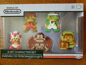 World of Nintendo: 8-Bit Character Set (Mario, Luigi, Donkey Kong, Toad, Link)