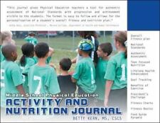 Intermediate Nutrition and Activity Journal (Personal Wellness series)