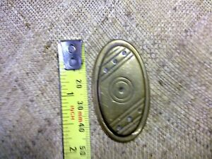 Art Deco key hole cover, escutcheon, vintage (NMK12)