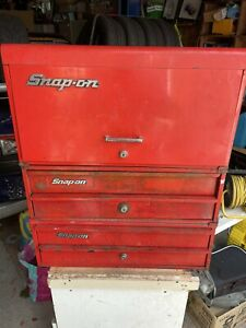 Snap On Tool Box 3 Section Includes Keys