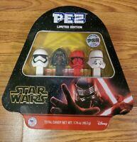 2019 Star Wars Limited Pez Set Tin Rise Of Skywalker Klyo Disney 11204 /75,000