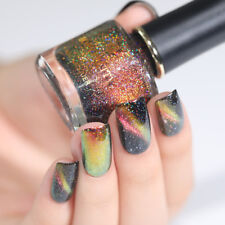 BORN PRETTY Holographicss Chameleon Magnetic Nail Polish  Black Base Need