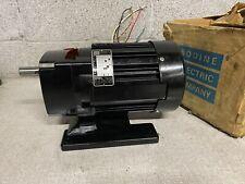 Bodine Electric 48r6bfsi F2 13hp 170rpm 115v 1ph Electric Gear Motor 101 Ratio