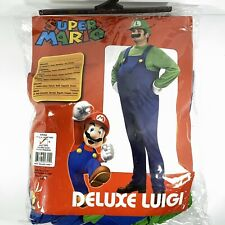 Nintendo Super Mario Luigi Deluxe Adult Sz. Small Halloween Costume No Mustache