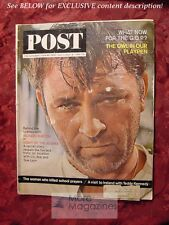 Saturday Evening Post July 11-18 1964 Jul 64 RICHARD BURTON Night Of The Iguana