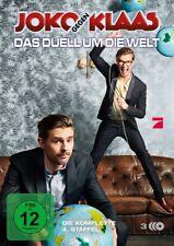 JOKO GEGEN KLAAS - DAS DUELL UM DIE WELT: DIE KOMPLETTE 4.STAFFEL 3 DVD NEU