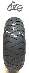 Bridgestone Battlax Th01r   160/60r14   65h  Part Worn Motorcycle Tyre 808
