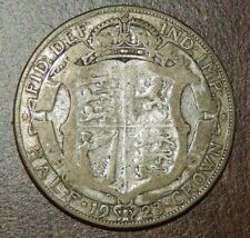 KING GEORGE V HALF CROWN 1923