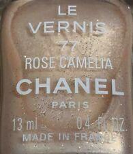 chanel nail polish 77 Rose Camelia rare limited edition vintage 1990s