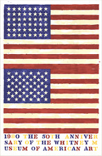 JASPER JOHNS The 50th Anniversary of the Whitney Museum of American Art (Double