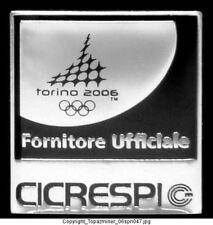 OLYMPIC PINS Torino 2006 CICRESPI SPONSOR PARTNER LOGO