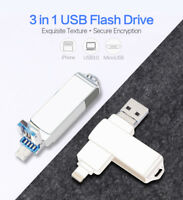 64GB 256GB Usb 3.0 OTG Pen Drive Flash U Disk Memory Stick for iPhone/Android/PC