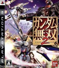 Used PS3 Gundam Musou 2 SONY PLAYSTATION 3 JAPAN JP JAPANESE JAPONAIS IMPORT