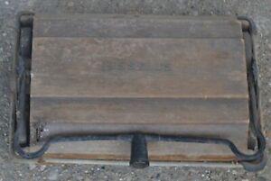 Vintage BISSELL GRAND RAPIDS floor MANUAL CARPET SWEEPER