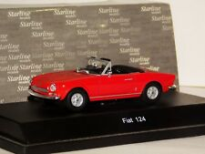 FIAT SPIDER RED STARLINE 1/43