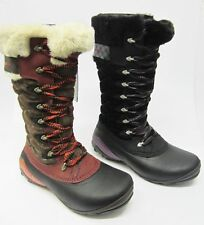 Women's 100% Leather Zip Walking, Hiking, Trail Boots