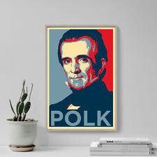 James K. Polk Art Print 'Hope' - Photo Poster Gift - USA President