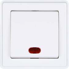 HEITECH Lichtschalter mit Kontrollleuchte - Unterputz Schalter beleuchtet