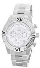 53ee995d1 Aqua Master Men's White Dial Stainless Steel Diamond Watch W#333