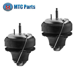 MTC Lower Engine Mount 2PCS Set for 1999-2009 Volvo S60 S80 V70 XC70 XC90