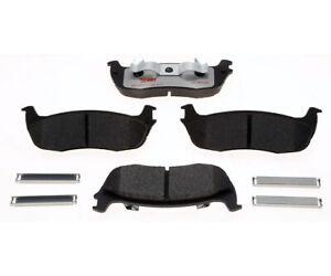 Disc Brake Pad Set-Element3; Hybrid Technology Brake Pad Set Rear Raybestos
