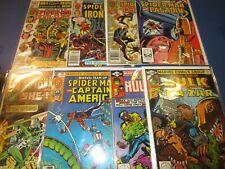 Marvel Team Up #104,105,106,107,108,109,110,111 Bronze age lot of 8 Spider-man
