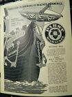 VERY RARE 1897 SPRR Sunset Limited PRR PABST Beer Savanna Line Steamship ads