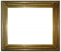 Rahmen - Spiegelrahmen - 19. Jh. - Holz, Ornamente Masse, vergoldet    (# 1019)